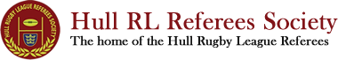 Hull Rugby League Referee Society Logo
